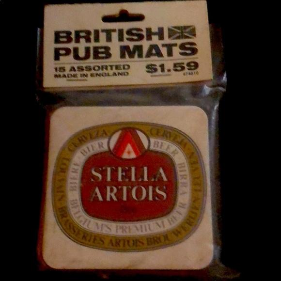 Vintage British Pub Mats